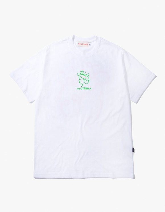 Victoria Hong Kong Lousy Queenhead S/S Tee - White | HEIGHTS. | 하이츠 온라인 스토어
