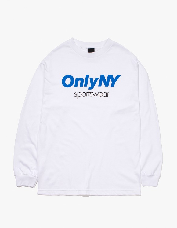 Only NY Sportswear L/S T-Shirt - White | HEIGHTS. | 하이츠 온라인 스토어