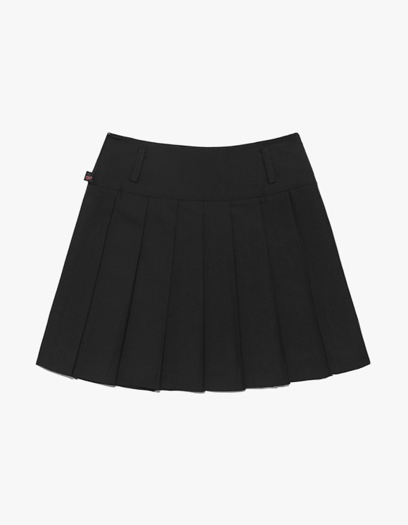 KIRSH Tennis Skirt IH - Black | HEIGHTS. | 하이츠 온라인 스토어