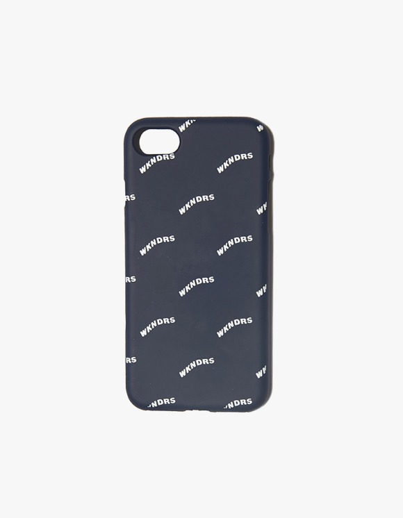 WKNDRS Wavy iPhone Case - Navy | HEIGHTS. | 하이츠 온라인 스토어