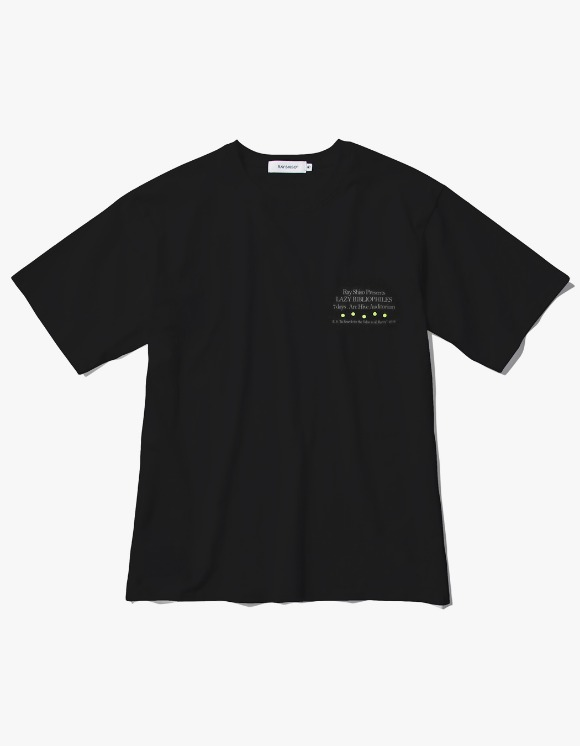 Ray Shiso Jurupa Arc Tour S/S Tee - Black | HEIGHTS. | 하이츠 온라인 스토어