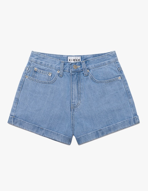 KIRSH Rollup Short Pants IH - Blue | HEIGHTS. | 하이츠 온라인 스토어