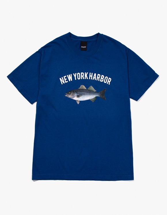 Only NY New York Harbor S/S Tee - Seaport Blue | HEIGHTS. | 하이츠 온라인 스토어