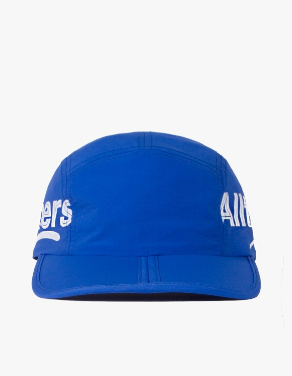 Alltimers Estate Side Logo Foldable Hat - Royal Blue | HEIGHTS. | 하이츠 온라인 스토어