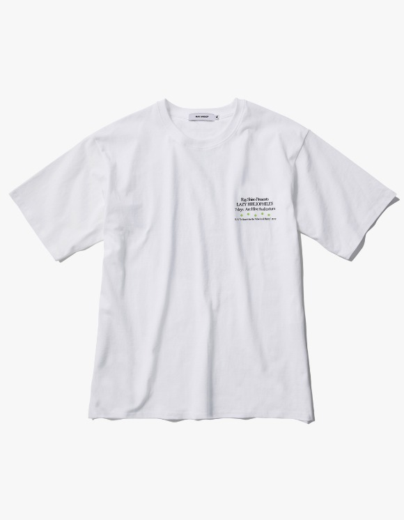 Ray Shiso Jurupa Arc Tour S/S Tee - White | HEIGHTS. | 하이츠 온라인 스토어