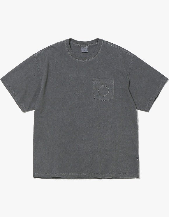 thisisneverthat C-UNION Pocket Tee - Charcoal | HEIGHTS. | 하이츠 온라인 스토어
