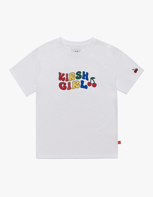 KIRSH Kirsh Girl Rainbow T-shirts IH - White | HEIGHTS. | 하이츠 온라인 스토어