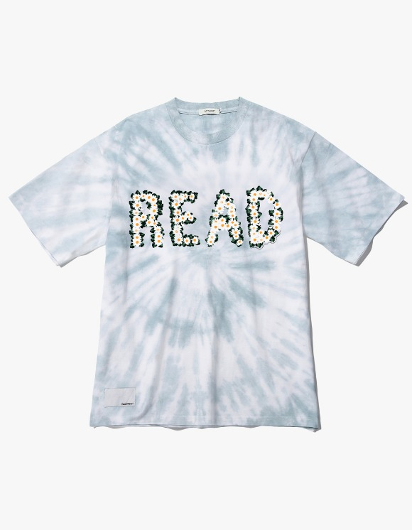 Ray Shiso Jurupa READ S/S Tee - Teal | HEIGHTS. | 하이츠 온라인 스토어