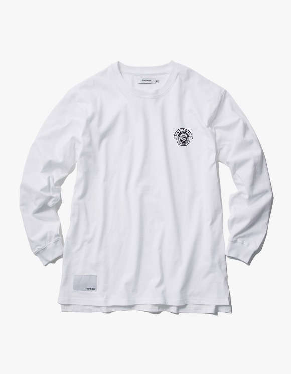 Ray Shiso 16oz L/S White El Ray Tee - Whtie | HEIGHTS. | 하이츠 온라인 스토어