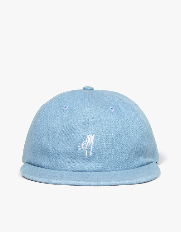 Only NY OK Polo Hat - Washed Denim | HEIGHTS. | 하이츠 온라인 스토어