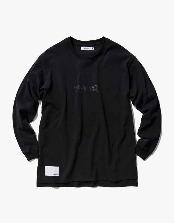 Ray Shiso 16oz L/S Readers Tee - Black | HEIGHTS. | 하이츠 온라인 스토어