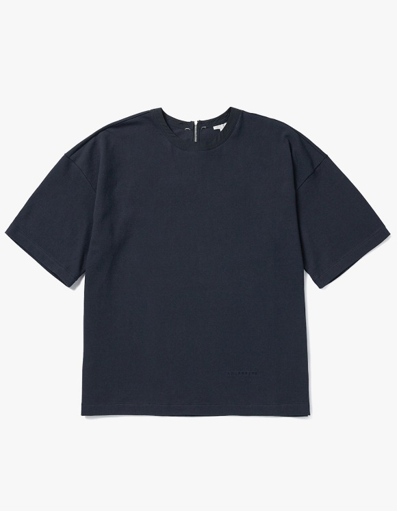 AECA WHITE Adoy Oversize Tee - Navy | HEIGHTS. | 하이츠 온라인 스토어