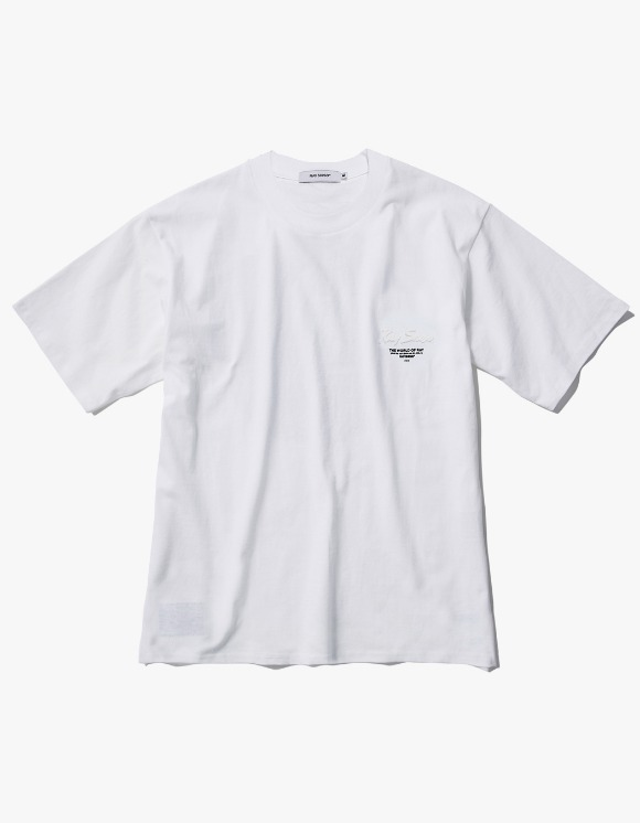 Ray Shiso Jurupa Jadeite S/S Tee - White | HEIGHTS. | 하이츠 온라인 스토어