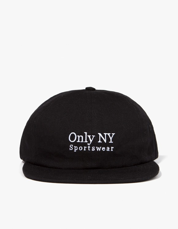 Only NY Guideline Polo Hat - Black | HEIGHTS. | 하이츠 온라인 스토어