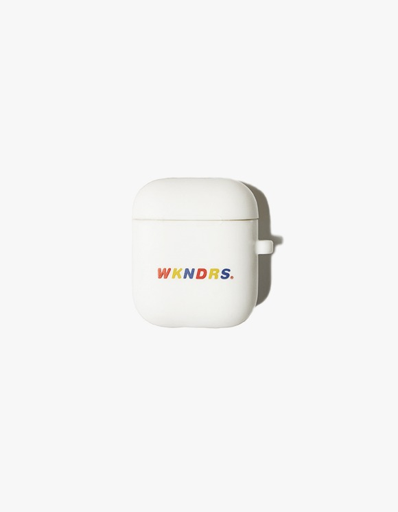 WKNDRS Wavy Airpod Case - White | HEIGHTS. | 하이츠 온라인 스토어