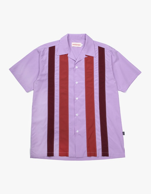 Victoria Hong Kong Open Collar 70's Shirts - Lavender | HEIGHTS. | 하이츠 온라인 스토어
