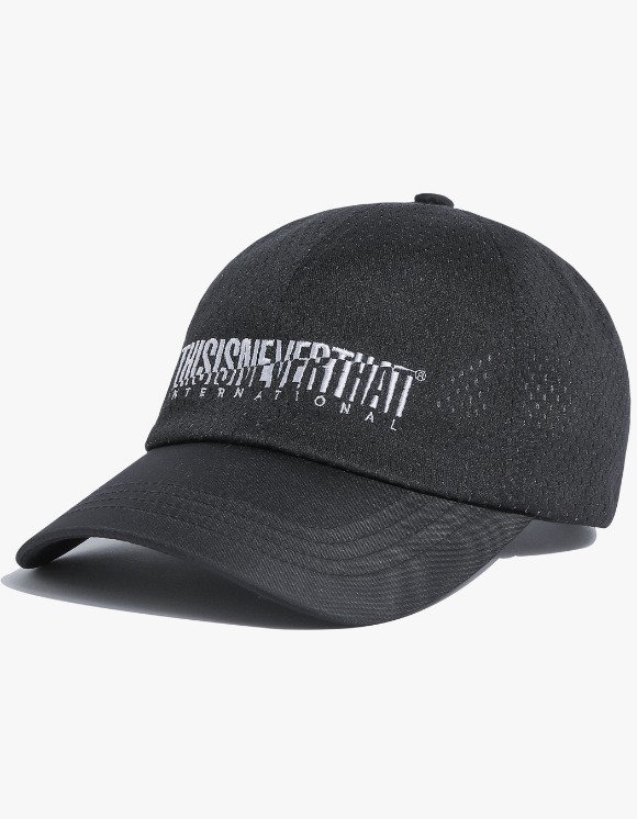 thisisneverthat Athletics Mesh Cap - Black | HEIGHTS. | 하이츠 온라인 스토어