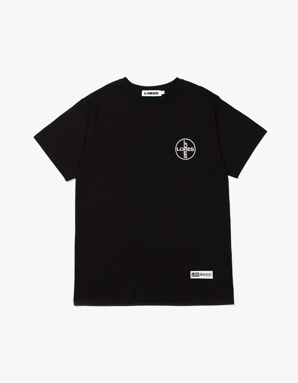 LORES Medicine S/S T-Shirt - Black | HEIGHTS. | 하이츠 온라인 스토어