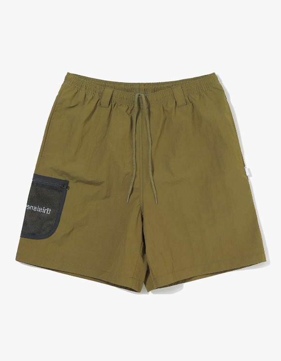 thisisneverthat Mesh Pocket Short - Olive | HEIGHTS. | 하이츠 온라인 스토어