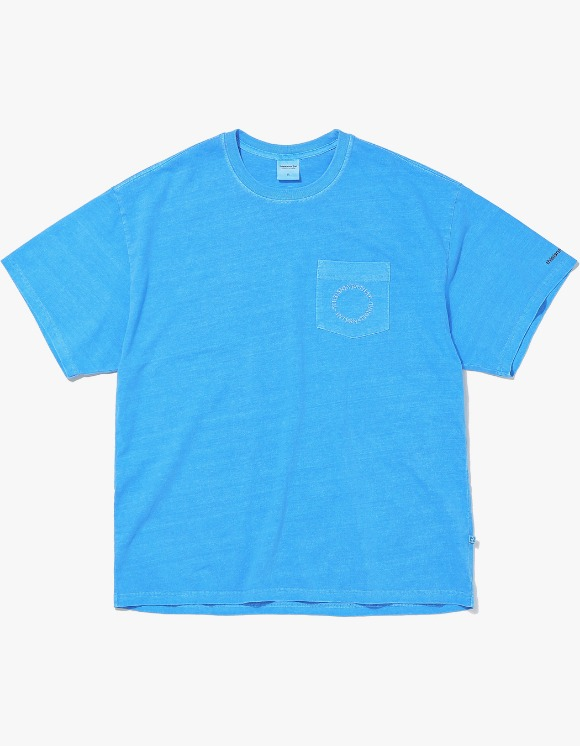 thisisneverthat C-UNION Pocket Tee - Blue | HEIGHTS. | 하이츠 온라인 스토어