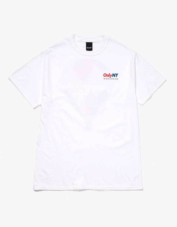 Only NY Balloon S/S Tee - White | HEIGHTS. | 하이츠 온라인 스토어
