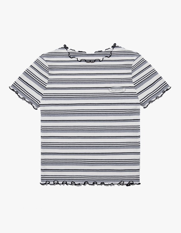 KIRSH Merrow Edge Stripe Tee IH - Black | HEIGHTS. | 하이츠 온라인 스토어