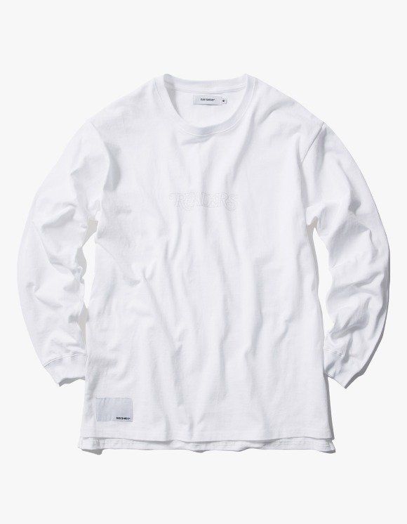 Ray Shiso 16oz L/S Readers Tee - White | HEIGHTS. | 하이츠 온라인 스토어
