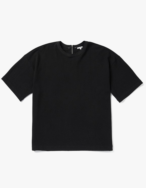 AECA WHITE Adoy Oversize Tee - Black | HEIGHTS. | 하이츠 온라인 스토어