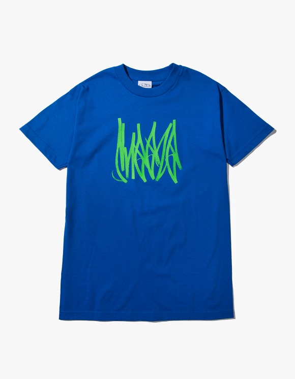 SNEEZE Magazine Sneeze Tag Tee - Royal Blue | HEIGHTS. | 하이츠 온라인 스토어