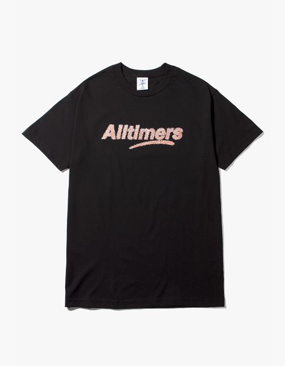 Alltimers Sprankles Tee - Black | HEIGHTS. | 하이츠 온라인 스토어
