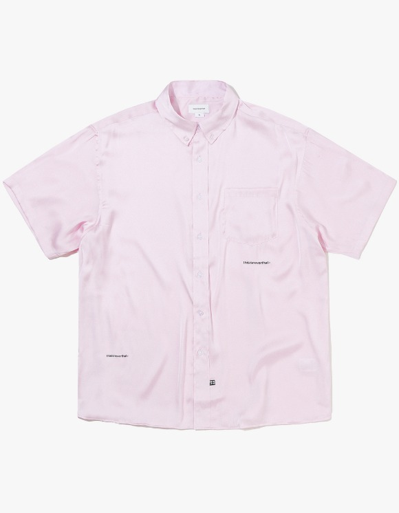 thisisneverthat TR Satin S/SL Shirt - Pink | HEIGHTS. | 하이츠 온라인 스토어