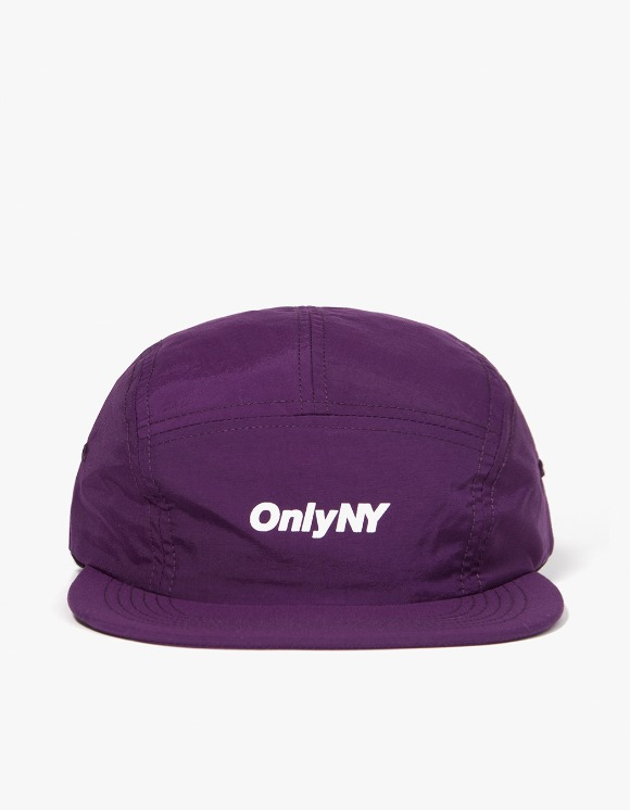 Only NY Logo 5-Panel Hat - Violet | HEIGHTS. | 하이츠 온라인 스토어