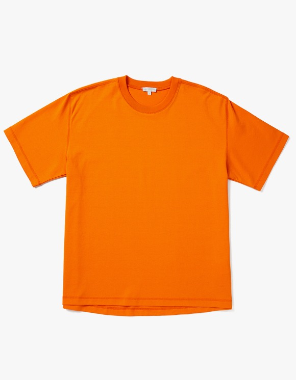 AECA WHITE Louise Half Sleeve Tee - Acid Orange | HEIGHTS. | 하이츠 온라인 스토어