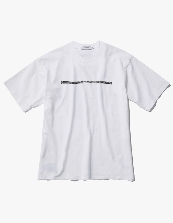 Ray Shiso Jurupa Stack S/S Tee - White | HEIGHTS. | 하이츠 온라인 스토어
