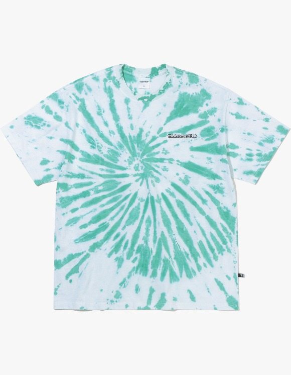 thisisneverthat Tie dye Tee - Green | HEIGHTS. | 하이츠 온라인 스토어
