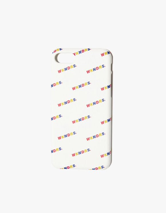 WKNDRS Wavy iPhone Case - White | HEIGHTS. | 하이츠 온라인 스토어
