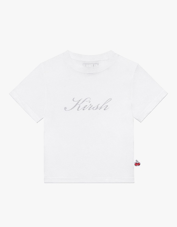 KIRSH Seethrough Half Neck Tee IH - White | HEIGHTS. | 하이츠 온라인 스토어