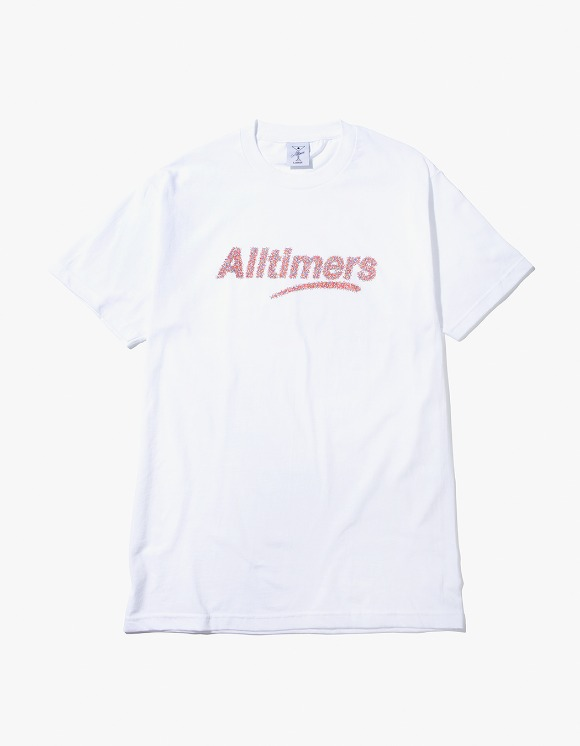 Alltimers Sprankles Tee - White | HEIGHTS. | 하이츠 온라인 스토어