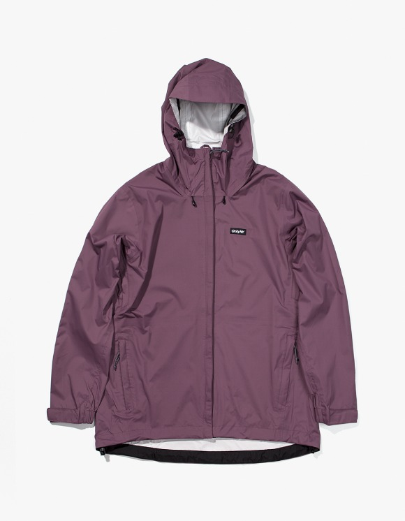 Only NY Packable Waterproof Transit Shell - Plum | HEIGHTS. | 하이츠 온라인 스토어
