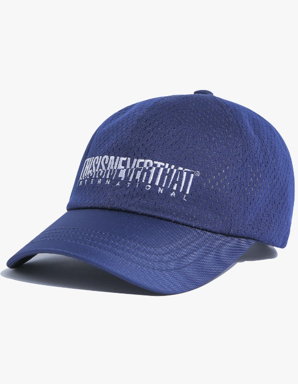 thisisneverthat Athletics Mesh Cap - Navy | HEIGHTS. | 하이츠 온라인 스토어
