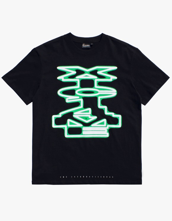 The Internatiiional XTC Tee - Black | HEIGHTS. | 하이츠 온라인 스토어