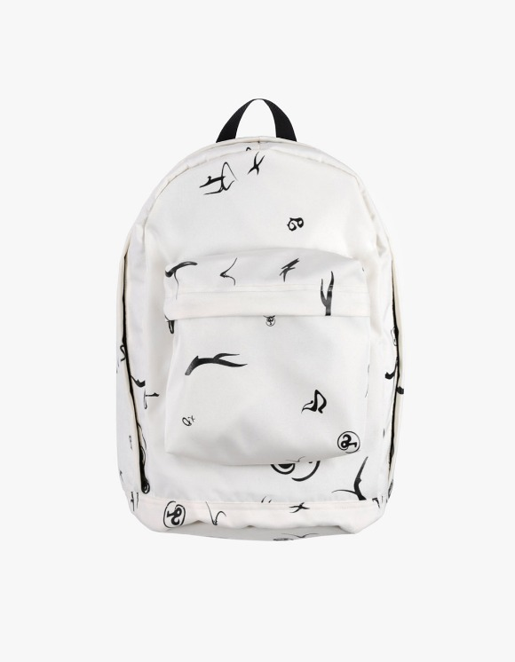 Richardson Erika Glyph Backpack - White | HEIGHTS. | 하이츠 온라인 스토어