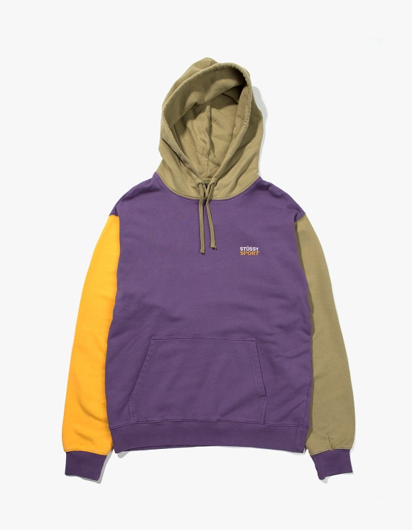 Stussy Stussy Sport Hoodie - Purple | HEIGHTS. | 하이츠 온라인 스토어
