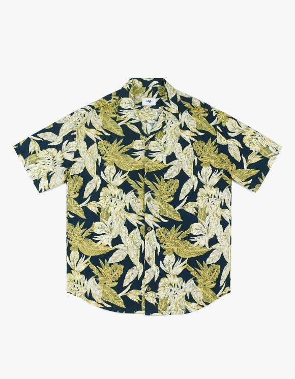 CLIF 19s Hawaiian Shirt - Navy | HEIGHTS. | 하이츠 온라인 스토어