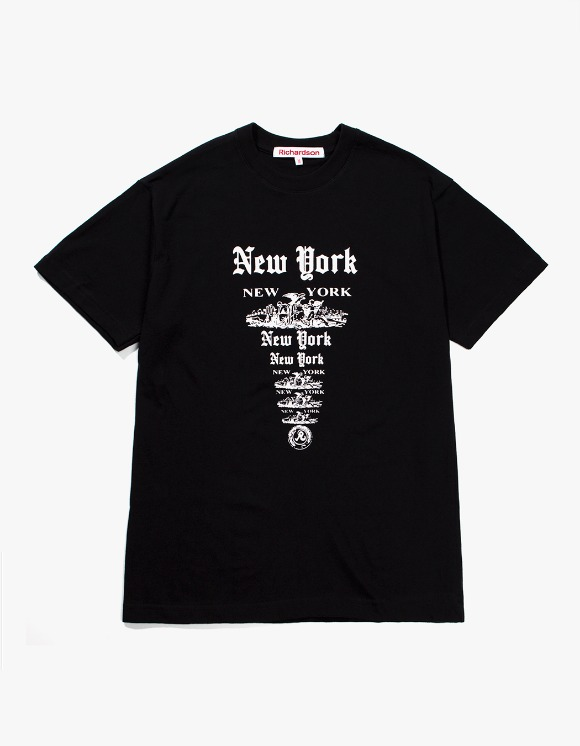 Richardson NY NY S/S T-shirts - Black | HEIGHTS. | 하이츠 온라인 스토어