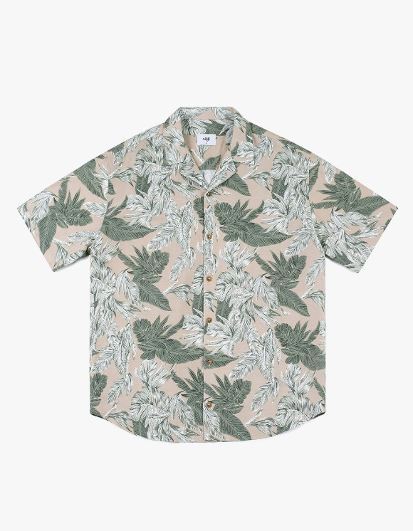 CLIF 19s Hawaiian Shirt - Beige | HEIGHTS. | 하이츠 온라인 스토어