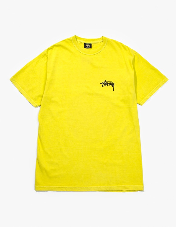 Stussy 8 Ball Pig.Dyed Tee - Lime | HEIGHTS. | 하이츠 온라인 스토어