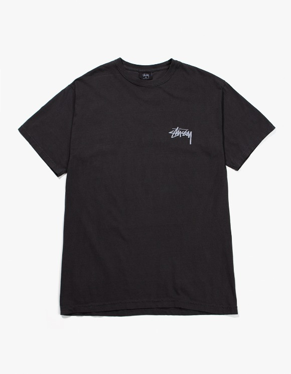 Stussy 8 Ball Pig.Dyed Tee - Black | HEIGHTS. | 하이츠 온라인 스토어