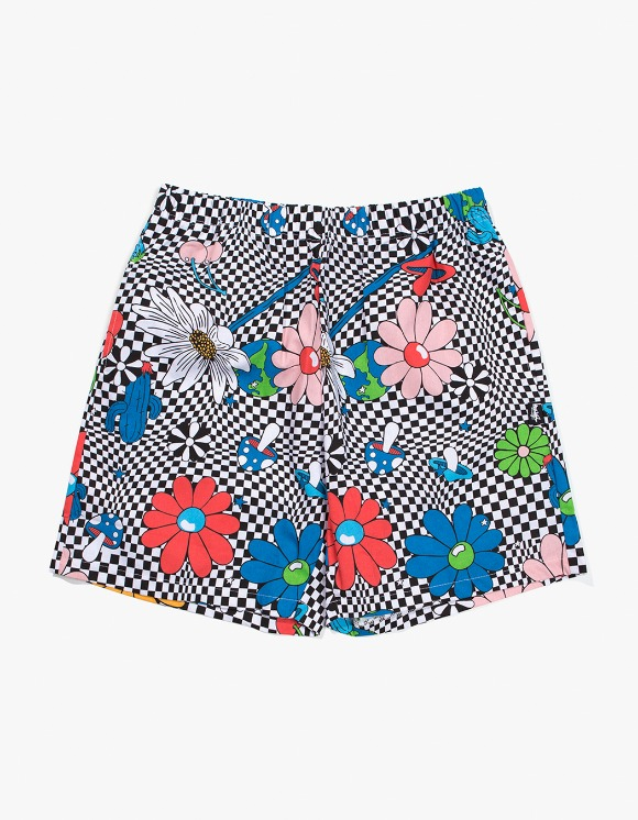 Stussy Vacation Checker Printed Short - White | HEIGHTS. | 하이츠 온라인 스토어