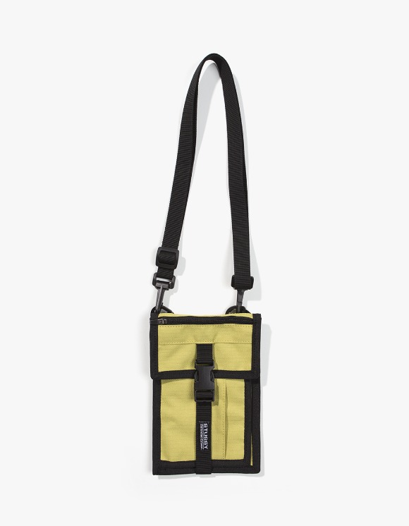 Stussy SideKick Crossboy Pouch - Gold | HEIGHTS. | 하이츠 온라인 스토어